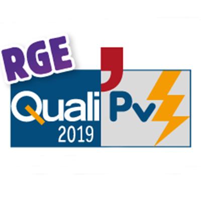Logo Quali pv RGE 2019 certification pour DCME