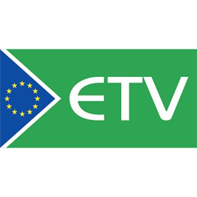 logo ETV verts avec drapeau européen pour la vérification de technologie environnementale