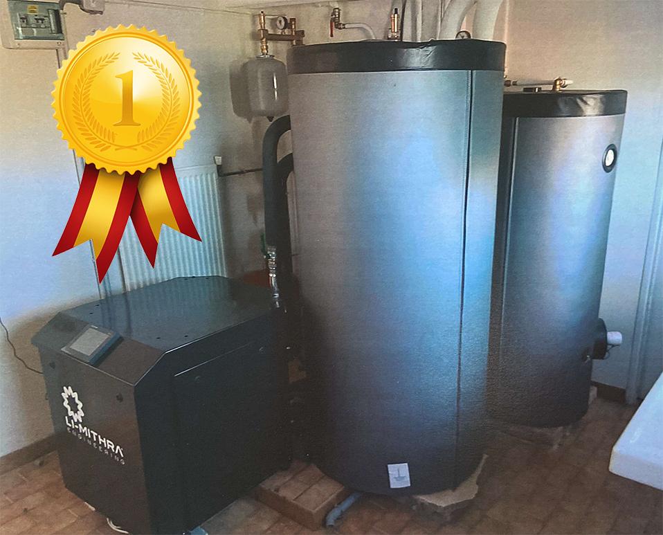 Installation pompe à chaleur et générateur li-mithra chez un particulier